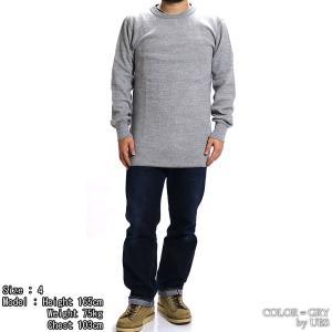 【返品不可】UES 60T 四本針ヘビーサーマルレギュラーTシャツ BIG WAFFLE TEE SHIRT L/S REGULAR ウエス|vintage|04