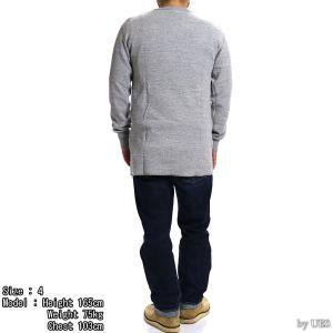 【返品不可】UES 60T 四本針ヘビーサーマルレギュラーTシャツ BIG WAFFLE TEE SHIRT L/S REGULAR ウエス|vintage|05