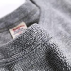 【返品不可】UES 60T 四本針ヘビーサーマルレギュラーTシャツ BIG WAFFLE TEE SHIRT L/S REGULAR ウエス|vintage|08