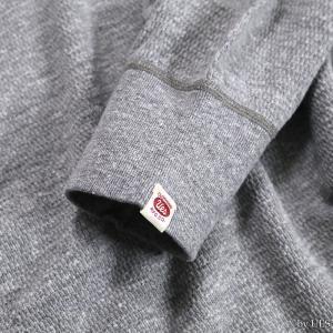 【返品不可】UES 60T 四本針ヘビーサーマルレギュラーTシャツ BIG WAFFLE TEE SHIRT L/S REGULAR ウエス|vintage|09