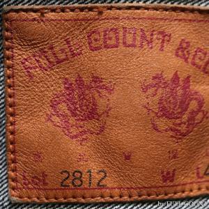 【返品不可】FULLCOUNT 2812W デニムジャケット Gジャン 15.5oz. DENIM JACKET 2nd MODEL DOUBLE FLAP POCKET TIGHT FIT HEAVY OZ フルカウント|vintage|04