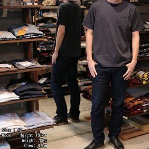 【返品不可】FULLCOUNT 5805P 半袖ポケットTシャツ クルーネック CREW NECK BASIC POCKET TEE S/S フルカウント|vintage