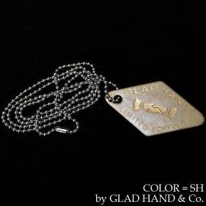 【返品不可】GLAD HAND GH1706 ネックレス TAG NECKLACE グラッドハンド|vintage