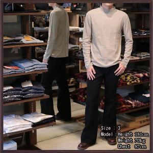 【返品不可】UES 601751 長袖Tシャツ タートルネックT TURTLE NECK L/S TEE SHIRT ウエス|vintage