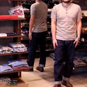 【返品不可】UES 66RR ラマヤーナヘンリーネックTシャツ RAMAYANA HENLEY NECK TEE SHIRT S/S ウエス|vintage