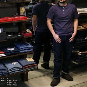 【返品不可】WARE HOUSE 4601 半袖Tシャツ ヘンリーネックT 無地 HENLY NECK TEE SHIRT S/S PLAIN ウエアハウス|vintage