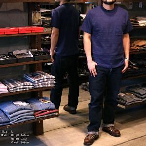 【返品不可】WARE HOUSE 4601 半袖Tシャツ クルーネックポケットT 無地 CREW NECK POCKET TEE SHIRT S/S PLAIN ウエアハウス|vintage
