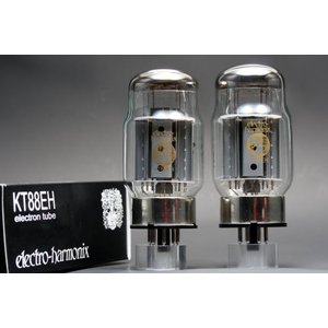 KT88 EH 2本マッチ 高パワー 真空管MX23