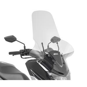 バイク スクリーン ヤマハ N-Max 125 GIVI社製 ラージスクリーン 取り付けキット別売|vio0009