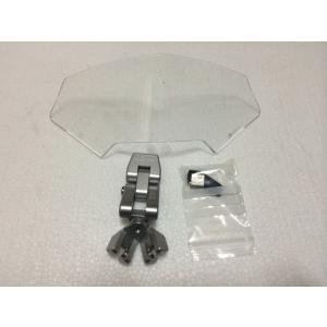 ワンダーリッヒ Vario-Ergo スクリーン・スポイラー 3D 可変補助スポイラー クリア|vio0009