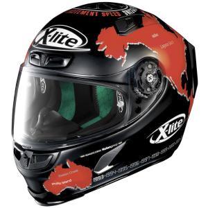 バイク ヘルメット フルフェイス ノラン / X-ライト X-803 カルロス・チェカ レプリカ|vio0009