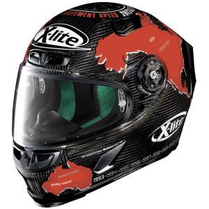 バイク ヘルメット フルフェイス ノラン / X-ライト X-803 ウルトラカーボン カルロス チェカ|vio0009
