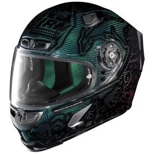 バイク ヘルメット フルフェイス ノラン / X-ライト X-803 ウルトラカーボン ケイシー・ストナー スーパーヒーロー|vio0009