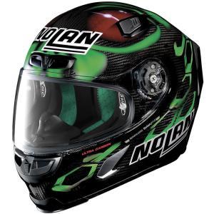 バイク ヘルメット フルフェイス ノラン / X-ライト X-803 ウルトラカーボン エネア・バスティアニーニ レプリカ|vio0009