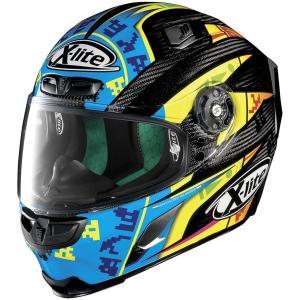 バイク ヘルメット フルフェイス ノラン / X-ライト X-803 ウルトラカーボン レオン・キャミア レプリカ|vio0009