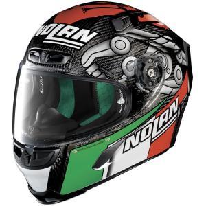 バイク ヘルメット フルフェイス ノラン / X-ライト X-803 ウルトラカーボン マルコ・メランドリ レプリカ|vio0009