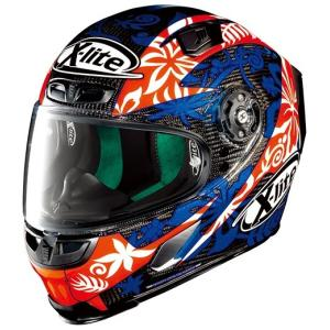 バイク ヘルメット フルフェイス ノラン / X-ライト X-803 ウルトラカーボン ダニロ・ペトルッチ レプリカ|vio0009