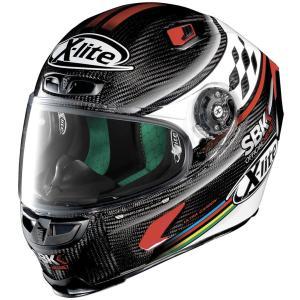 バイク ヘルメット フルフェイス ノラン / X-ライト X-803 ウルトラカーボン WSBK オフィシャル デザイン|vio0009
