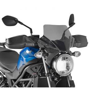 バイク スクリーン スズキ SV650 2016- GIVI社製 スモーク スクリーン|vio0009