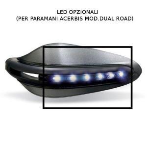 バイク ハンドガード アチェルビス デュアルロード用 LED照明|vio0009