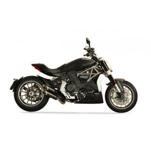 バイク マフラー QDエキゾースト モンキーシリーズ スリップオン システム ドカティ X-Diavel|vio0009