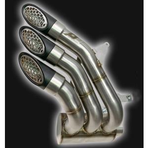 バイク マフラー QDエキゾースト MVアグスタ リバーレ 675 / 800 パワー・ガン スリップオン システム|vio0009