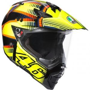 バイク オフロードヘルメット フルフェイス AGV AX-8 デュアルEVO SoleLuna ロッシ 2015|vio0009
