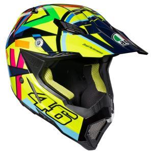 バイク オフロードヘルメット フルフェイス AGV AX-8 EVO SoleLuna ロッシ 2016|vio0009