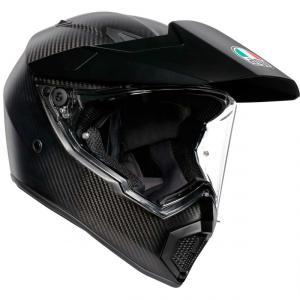 バイク オフロードヘルメット フルフェイス AGV AX-9 マットカーボン|vio0009