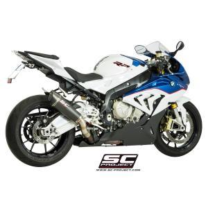 バイク マフラー SCプロジェクト BMW S1000RR 15- コニカル・サイレンサー スリップオン・システム|vio0009