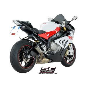 バイク マフラー SCプロジェク BMW S1000RR '17 S1・チタンサイレンサー スリップオン・システム|vio0009