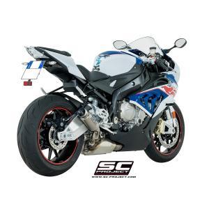 バイク マフラー SCプロジェクト BMW S1000 RR '17- GP 70-R スリップオン サイレンサー vio0009