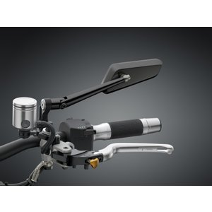 バイク 汎用 ビレットミラー RIZOMA リゾマ 「circuit744」 サーキット744|vio0009