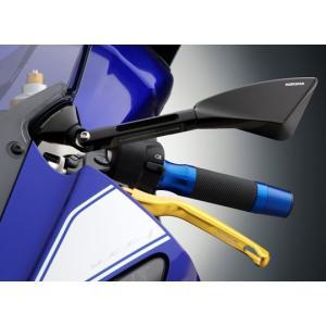 バイク 汎用 ビレットミラー RIZOMA リゾマ ミラーアダプター YZF R-6 08-|vio0009