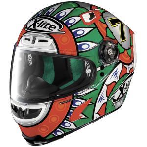 バイク ヘルメット フルフェイス ノラン / X-ライト X-803 チャズ・デイビス イタリア レプリカ デザイン|vio0009