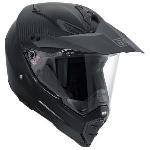 バイク オフロードヘルメット フルフェイス AGV AX-8 デュアルEVO マットカーボン|vio0009