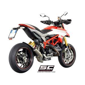 バイク マフラー SCプロジェクト ドカティ ハイパー・ストラーダ ハイパー・モタード 939/SP CRT スリップオン|vio0009