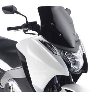 バイク スクリーン ホンダ インテグラ 750 / 700 GIVI社製 スモーク スクリーン|vio0009