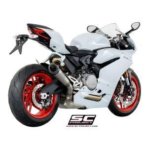 バイク マフラー SCプロジェクト ドカティ 959 パニガーレ S1チタン サイレンサー スリップオン・システム|vio0009