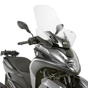 バイク スクリーン ヤマハ トリシティ 125/155 GIVI社製 ラージスクリーン|vio0009