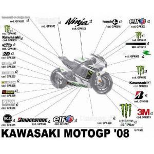 08 モンスター・カワサキ ワークス最後のライムグリーン|vio0009