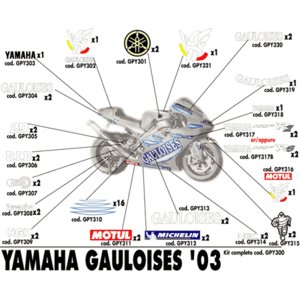 03 GAULOISES ヤマハ |vio0009