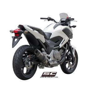 バイク マフラー SCプロジェク ホンダ NC700X / S  インテグラ オーバル スリップオン|vio0009