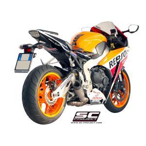 バイク マフラー SCプロジェク ホンダ CBR1000RR 2014-16 S-1 サイレンサー スリップオン|vio0009