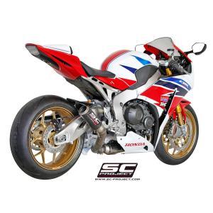 バイク マフラー SCプロジェクト ホンダ CBR1000RR 2014-16 CRTサイレンサー スリップオン|vio0009