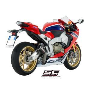バイク マフラー SCプロジェクト ホンダ CBR1000RR / SP 2017 CRTサイレンサー スリップオン