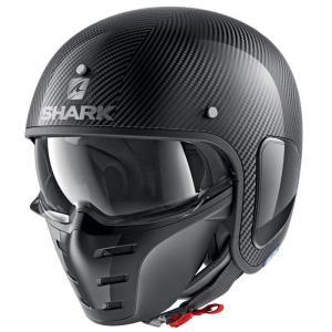 バイク ヘルメット ジェット シャーク S-ダラク カーボン|vio0009