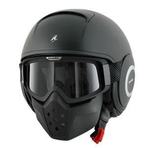 バイク ヘルメット フルフェイス シャーク Drak ドラク ブラック マット(ツヤ消し)|vio0009