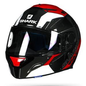 バイク ヘルメット フルフェイス シャーク スパルタン バイオニック  カーボン / レッド/グレー|vio0009