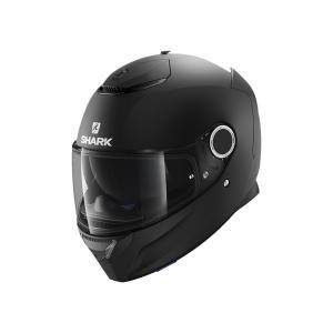 バイク ヘルメット フルフェイス シャーク スパルタン マットブラック(つや消し黒)|vio0009